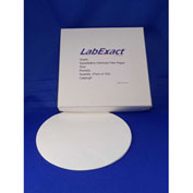 LabExact CFP42 2.5um Quantitative Cellulose Filter Paper, Ashless, 9.0cm, 100/PK