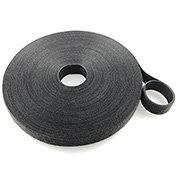 "VELCRO®Brand One-Wrap® UL Rated Fire Retardant Hook & Loop Tape Fasteners Black 3/4"" x 15'"