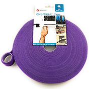 "VELCRO®Brand One-Wrap® Hook & Loop Tape Fasteners Purple 1"" x 15'"