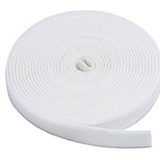 "VELCRO®Brand One-Wrap® Hook & Loop Tape Fasteners White 1"" x 15'"