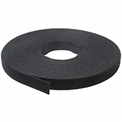 "VELCRO®Brand One-Wrap® Hook & Loop Tape Fasteners Black 1/2"" x 75'"