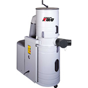 Kufo Seco 3HP 1 Phase Total Enclosed Canister Dust Collector - UFO-DC103