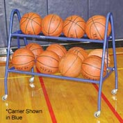 Jaypro Sports Deluxe Basketball Carrier- 12 Ball - Black