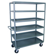 Jamco 6 Shelf Stock Truck CF272 24 x 72
