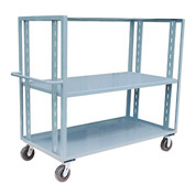 Jamco Adjustable Shelf Stock Truck CZ248 24 x 48