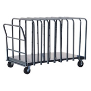 Jamco Adjustable Divider Truck with 10 Dividers DG460 36 x 60