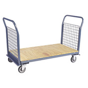 Jamco Wire Sided Platform Truck with 2 Wire Ends EP360 - 30 x 60 - 1200 Lb. Capacity