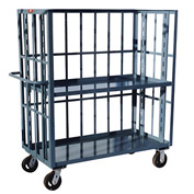 Jamco 3 Sided Slat Truck HZ272 24 x 72 1 Adjustable & 1 Fixed Shelf