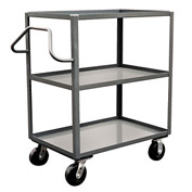 Jamco Ergonomic Handled 3 Shelf Stock Truck NC260 24 x 60