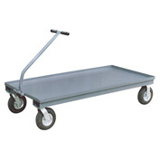 Jamco TN236 Wagon with 2 Rigid & 2 Swivel Casters - 24 x 36 - 1200 Lb. Capacity