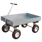 "Jamco Steel Deck Wagon Truck with 6"" Sides TX248 - 24 x 48"