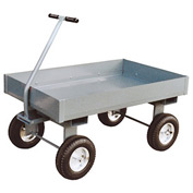 "Jamco Steel Deck Wagon Truck with 6"" Sides TX360 - 24 x 60"