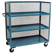 Jamco 3 Sided Mesh Truck ZC372 with 3 Shelves 30 x 72