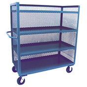 Jamco 3 Sided Mesh Truck ZD460 36 x 60 with 4 Shelves