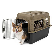 """Petmate Camouflage Kennel 21937,32-19/64""""L X 23-13/64""""W X 22-13/64""""H, Airline Approved"""