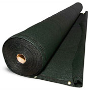 BOEN Privacy Netting W/Reinforced Grommets, 6' x 100', Green - PN-30061