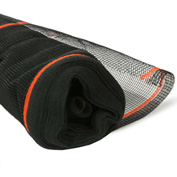 BOEN SN-20006 Fire Resistant Safety Netting, 4 Ft. x 150 Ft., Black, 1 Roll
