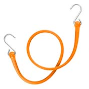 "The Perfect Bungee PBSH36NG - 36"" Bungee Cord with Stainless Steel Hooks - Safety Orange - Pkg Qty 6"