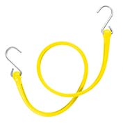 "The Perfect Bungee PBSH36Y - 36"" Bungee Cord with Stainless Steel Hooks - Yellow - Pkg Qty 6"