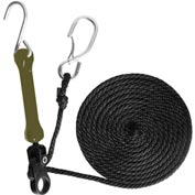 The Perfect Bungee PTD 12' Tie-Down W/Military Green Bungee - Pkg Qty 4