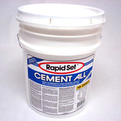 JE Tomes RSCA-55P Rapid Set Concrete Resurfacing, 55lb. Pail