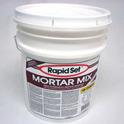JE Tomes Rapid Set Mortar Mix, Concrete Repair, High Strength, 55 lb. Pail - RSMM-55P