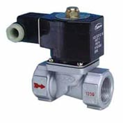 "Jefferson Valves, 3/8"" 2 Way Solenoid Valve For General Purpose 120V AC Pilot Operated"