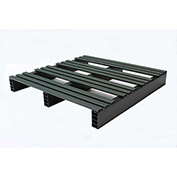 JiFram Rackable Extruded Plastic Pallet 05000213 - 30x30, Two-Way Entry, 1000 Lb. Fork Capacity