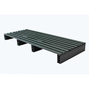 JiFram Rackable Extruded Plastic Pallet 05000235 - 18x48, Two-Way Entry, 1000 Lb. Fork Capacity
