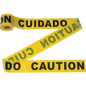 "300' x 3"" Yellow ""CAUTION"" Tape, 1 Roll"