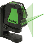 Johnson Level 40-6656 Self-Leveling Cross-Line Laser with GreenBrite® Technology