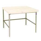 Bakers Production Table - Stainless Steel Frame 84X48