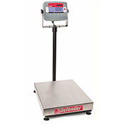 "Ohaus Defender Rectangular Bench Digital Scale 60lb x 0.01lb 12"" x 14"" Platform"