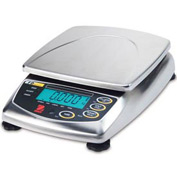 "Ohaus FD15H AM Food Portioning Digital Scale 30lb x 0.001lb 8-1/4"" x 8-1/4"" Platform"