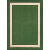 "Joy Carpets Portrait™ Classroom Carpets 3'10"" x 5'4"", Greenfield - 1479B-03"