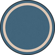 "Joy Carpets Portrait™ Classroom Carpets 5'4"" Round, Seaside - 1479H-08"