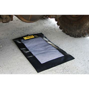 """Justrite Extended Drip Pad, 36""""L x 24""""W, 1.75 Gallons, 28459"""