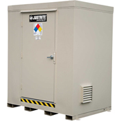 Justrite 4-Hour Fire-Rated Chemical Storage Building 913061 - 6-Drum, Explosion Relief Panels