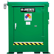 Justrite Agri-Turf™ Outdoor Chemical Storage Building 914040 - 105-Cu Ft