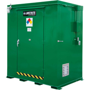 Justrite Agri-Turf™ Outdoor Chemical Storage Building 914060 - 205-Cu Ft