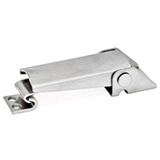 J.W. Winco, GN831-NI Toggle Latch W/O Safety Catch, 101ENH4/A, Size 100, Stainless Steel