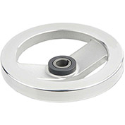"JW Winco - 14KE80/ADR - Safety Clutch Handwheel - Needle Bearing w/o Handle 6.30""D-14mm Bore-Keyway"