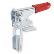 J.W. Winco, GN851.1 Vertical Hook-Type Toggle Clamp, 851.1-700-T3, W/ Pull Latch, Sheet Metal