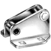J.W. Winco, 6847-GNI Fixed Catch for Hook-Type Toggle Clamp, A95463, Size 1, Stainless Steel