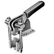 J.W. Winco, 40324 Latch Type Toggle Clamp W/Catch Plate, JW-40334, 1000 Lb Cap, Sheet Metal Steel
