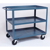 Jamco 3 Shelf Service Cart SC372 1200 Lb. Capacity 30 x 72