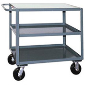 Jamco 3 Shelf Service Cart SF230 2400 Lb. Capacity 24 x 30