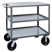 Jamco 3 Shelf Service Cart SK260 4800 Lb. Capacity 24 x 60