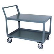 Jamco Offset Handle Low Profile Cart SL124 1200 Lb. Capacity 18 x 24