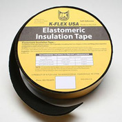 "K-Flex Elastomeric Foam Tape, 1/4"" Thick X 2"" Wide X 30' Per Roll - Pkg Qty 6"